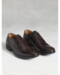 John Varvatos | Brown Dylan Wingtip for Men | Lyst