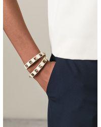 Valentino | White 'Rockstud' Bracelet | Lyst