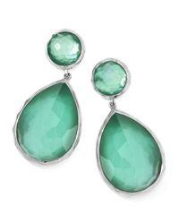 Ippolita | Green Large Mother-of-pearl Wonderland Teardrop Earrings | Lyst