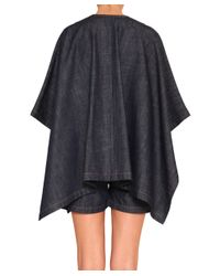 See By Chloé - Blue Oversized Cotton Denim Shirt - Lyst