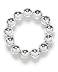 Pink Pony | Metallic Lauren Stretch Bead Bracelet, 12mm | Lyst