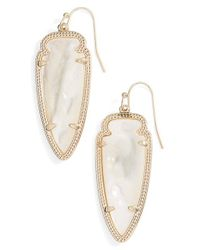 Kendra Scott | Metallic 'sky Spear' Small Statement Earrings | Lyst