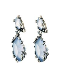Alexis Bittar | Blue Mystic Marquis Drop Clip Earring You Might Also Like | Lyst