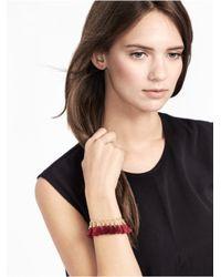 BaubleBar - Red Festival Tassel Bracelet-maroon - Lyst