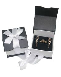 Di Modolo - Metallic 18k Rose Gold Plated Sterling Silver Lolita Gift Set With Smoky Quartz - Lyst