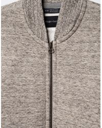 Wings + Horns - Gray Cabin Fleece Bomber - Lyst