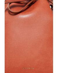 Mansur Gavriel - Brown Mini Bucket Bag - Lyst
