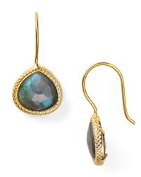 Coralia Leets | Metallic Braided Teardrop Earrings | Lyst