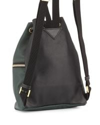 Marni - Green Zaino Two-tone Leather Backpack for Men - Lyst