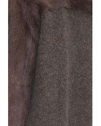 Isabel Marant - Natural Adele Fur Coat - Lyst