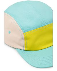 Forever 21 | Blue Colorblocked Five-Panel Hat for Men | Lyst