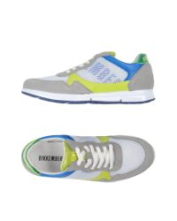 Bikkembergs - Gray Low-tops & Trainers - Lyst