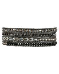 Chan Luu | Multicolor 32' Matte Hematine Seed Bead Mix Wrap Bracelet | Lyst