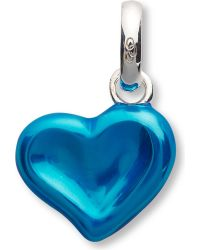 Links of London | Blue 2012 Thumbprint Heart Charm | Lyst