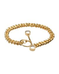 Bjorg - Metallic Bracelet - Lyst
