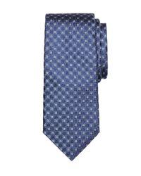 Brooks Brothers   Blue Four-petal Flower Tie for Men   Lyst