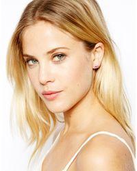 Cath Kidston - Pink Bow Earrings - Lyst