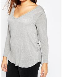 ASOS - Black New Forever Top With Long Sleeves - Lyst