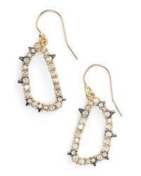 Alexis Bittar | Metallic 'elements' Drop Earrings | Lyst