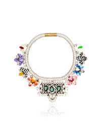 Shourouk | Multicolor Avalon Emerald Necklace | Lyst