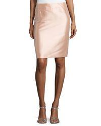 ESCADA - Natural High-waist Pencil Skirt - Lyst