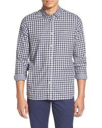 Ted Baker   Blue 'thorshor' Modern Slim Fit Print Short Sleeve Sport Shirt for Men   Lyst