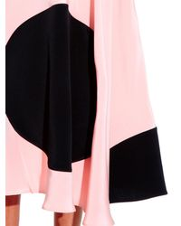 ROKSANDA - Pink Turnham Silk-satin Skirt - Lyst