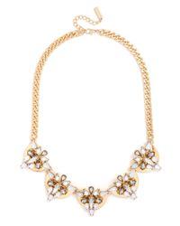 BaubleBar - Metallic Crystal Mesopotamia Collar - Lyst