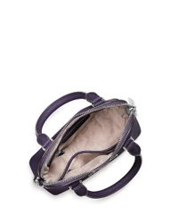 MICHAEL Michael Kors | Purple Cindy Leather Crossbody Satchel | Lyst