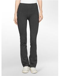 Calvin Klein | Gray White Label Performance Compression High Waist Pants | Lyst