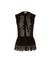 Temperley London - Black Jacques Top - Lyst