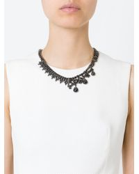 Iosselliani - Metallic 'black On Black Memento' Necklace - Lyst
