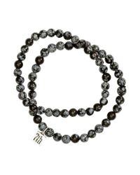 H&M - Black 2-Pack Bracelets for Men - Lyst