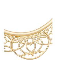 Trina Turk | Metallic Openwork Bib Necklace | Lyst
