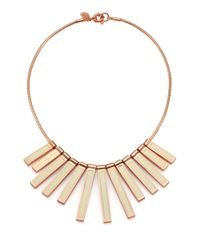 Marc By Marc Jacobs - Metallic Stick Bib Necklace for Men - Lyst