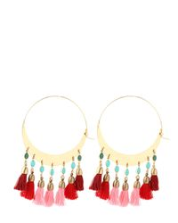Isabel Marant | Red Mild Hoop Earrings | Lyst