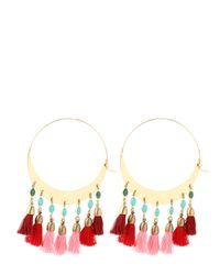 Isabel Marant | Red Mild Hoop Earrings | Lyst
