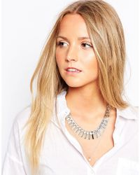 ALDO | Metallic Feinberg Multirow Necklace | Lyst