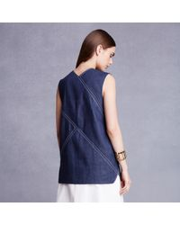 Trademark | Blue Diagonal Shell | Lyst