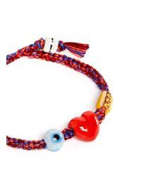 Venessa Arizaga - Multicolor 'i Love Hot Dogs' Bracelet - Lyst