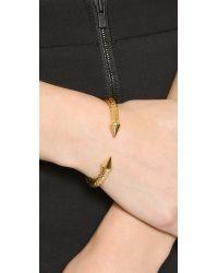 Vita Fede - Metallic Mini Titan Snake Bracelet - Gold - Lyst