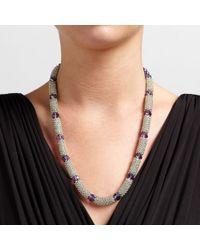 John Lewis | Metallic Crystal Bead Necklace | Lyst