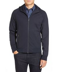 W.r.k. | Blue 'mckinley' Zip Hoodie for Men | Lyst