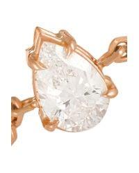 Anita Ko | Metallic 18-karat Rose Gold Diamond Ring | Lyst