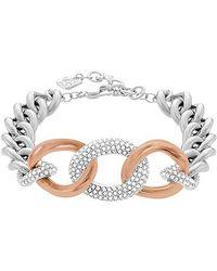 Swarovski | Metallic Bound Bracelet | Lyst