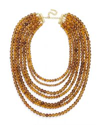 BaubleBar | Orange Bold Beaded Strands | Lyst