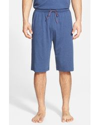 Tommy Bahama - Blue Cotton Blend Lounge Shorts for Men - Lyst