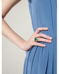 Shaun Leane | Green 'Bound' Ring | Lyst