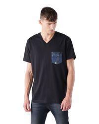 DIESEL | Black T-bascon for Men | Lyst