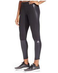 Adidas Originals - Black Supernova Climacool Leggings - Lyst